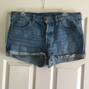 Urban Outfitters High-Rise BDG Denim Shorts